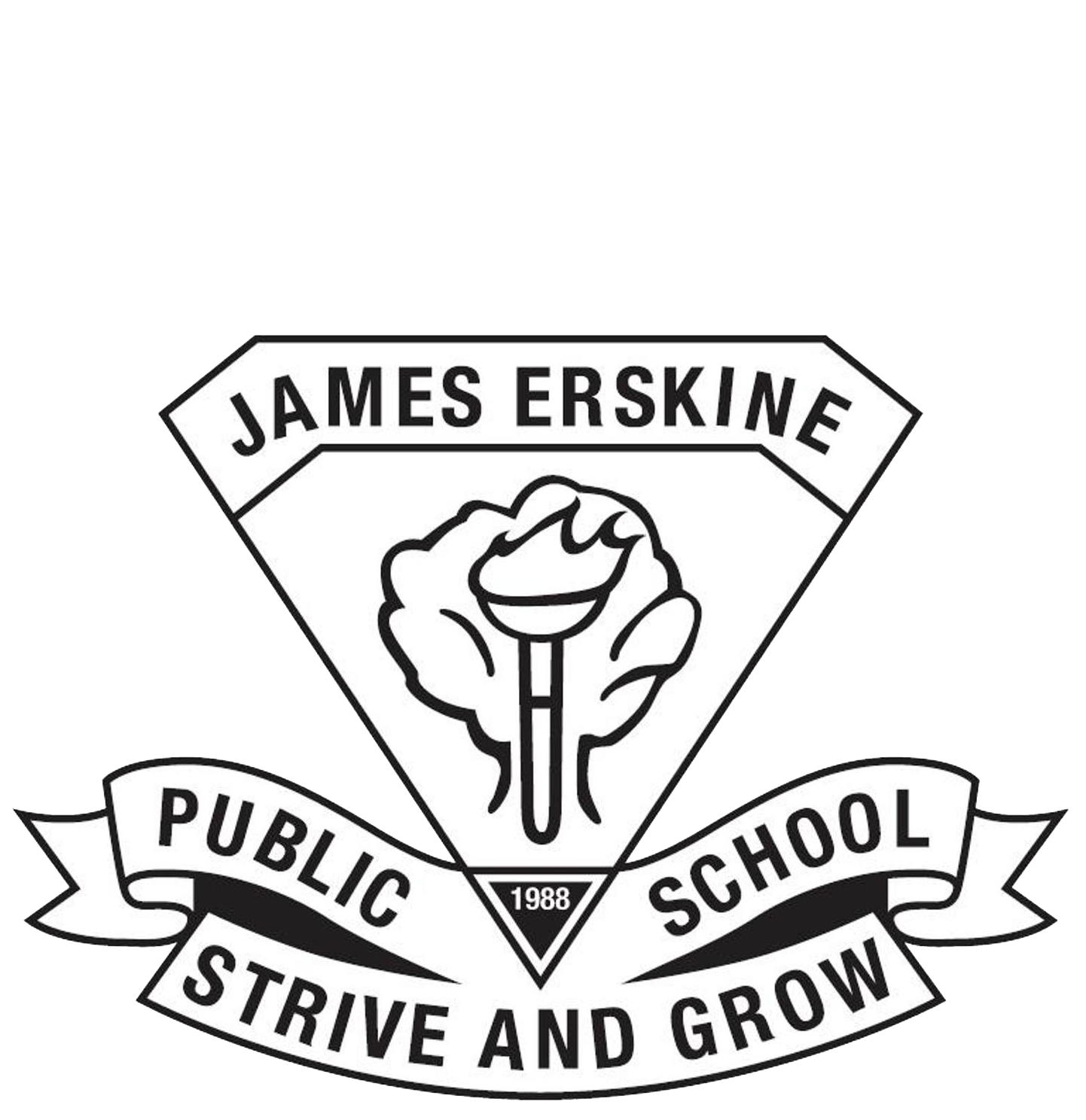 James Erskine Public School logo